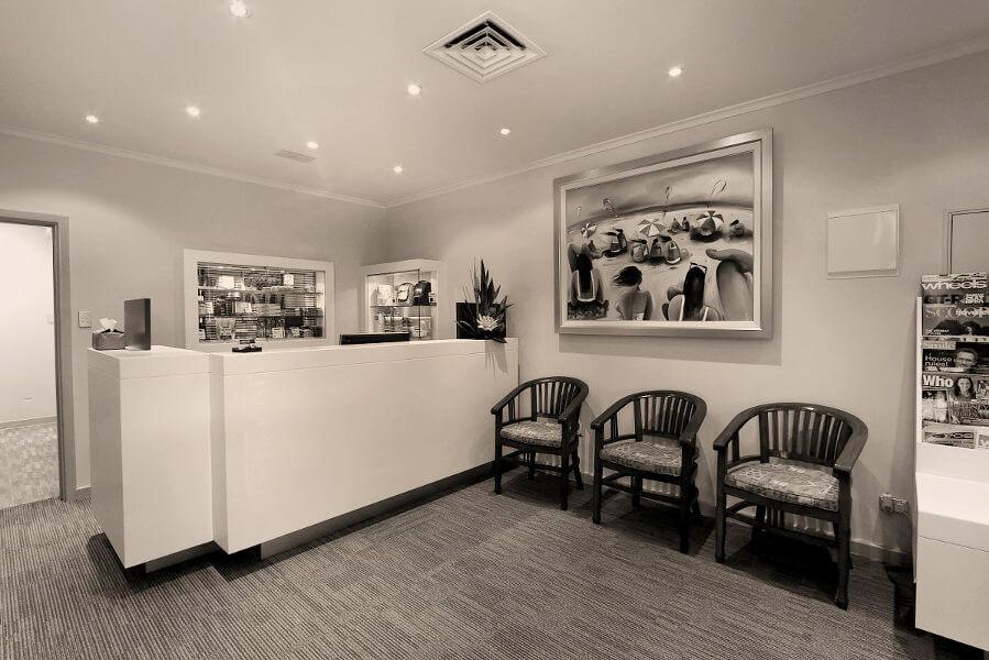 Subiaco Dental Practice Waiting Room Reception